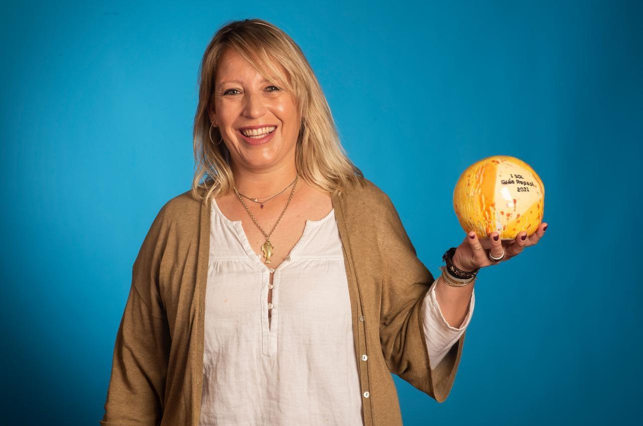 María Casellas, con el Sol por Casamar, recibido por primera vez en 2021
