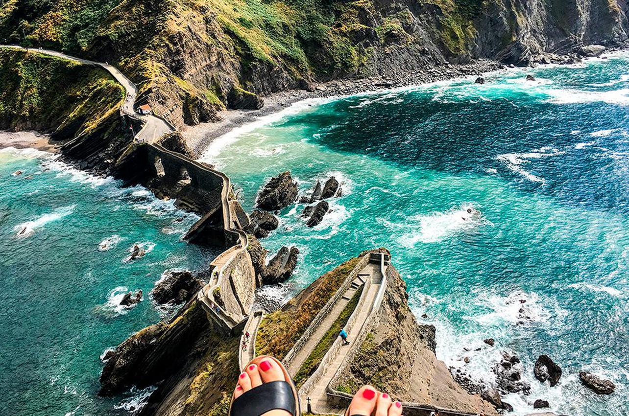 San Juan de Gaztelugatxe, un lugar mágico. Foto: Shutterstock