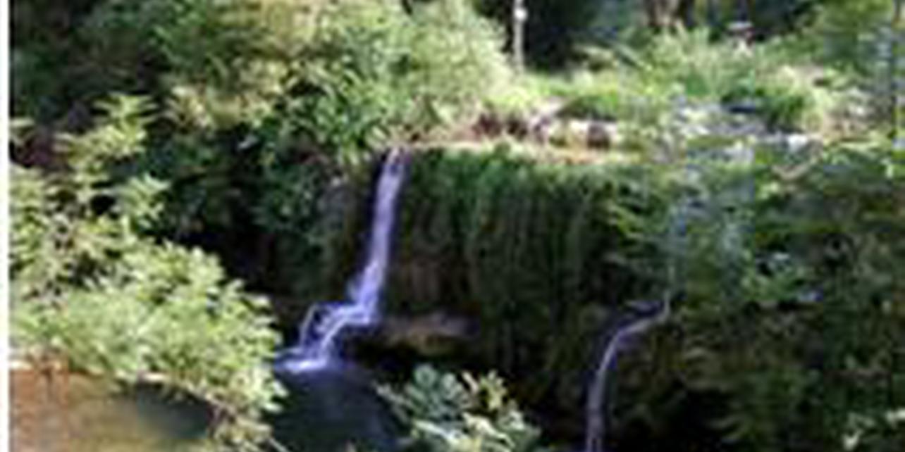 Cascada y fuente de La Teja