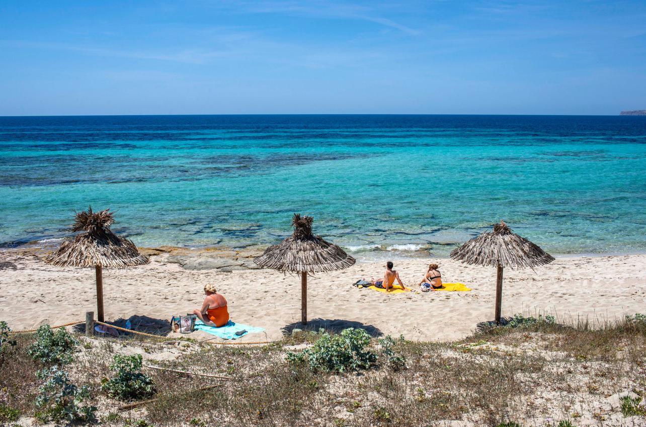 Playa de Es Migjorn