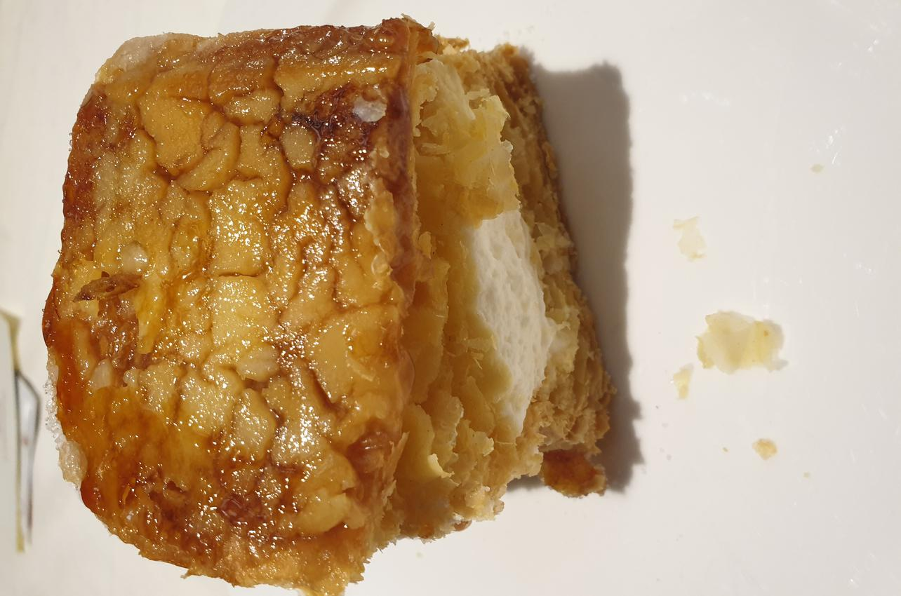 Tarta de hojaldre. Foto Guía Repsol