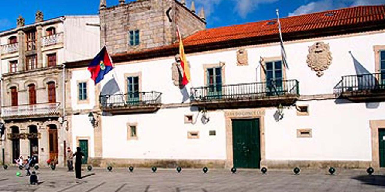 Casco histórico de Baiona