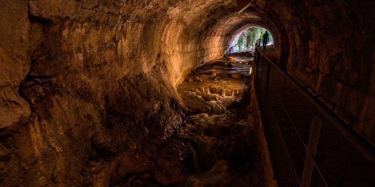Bóveda del río Cerezuelo de Cazorla
