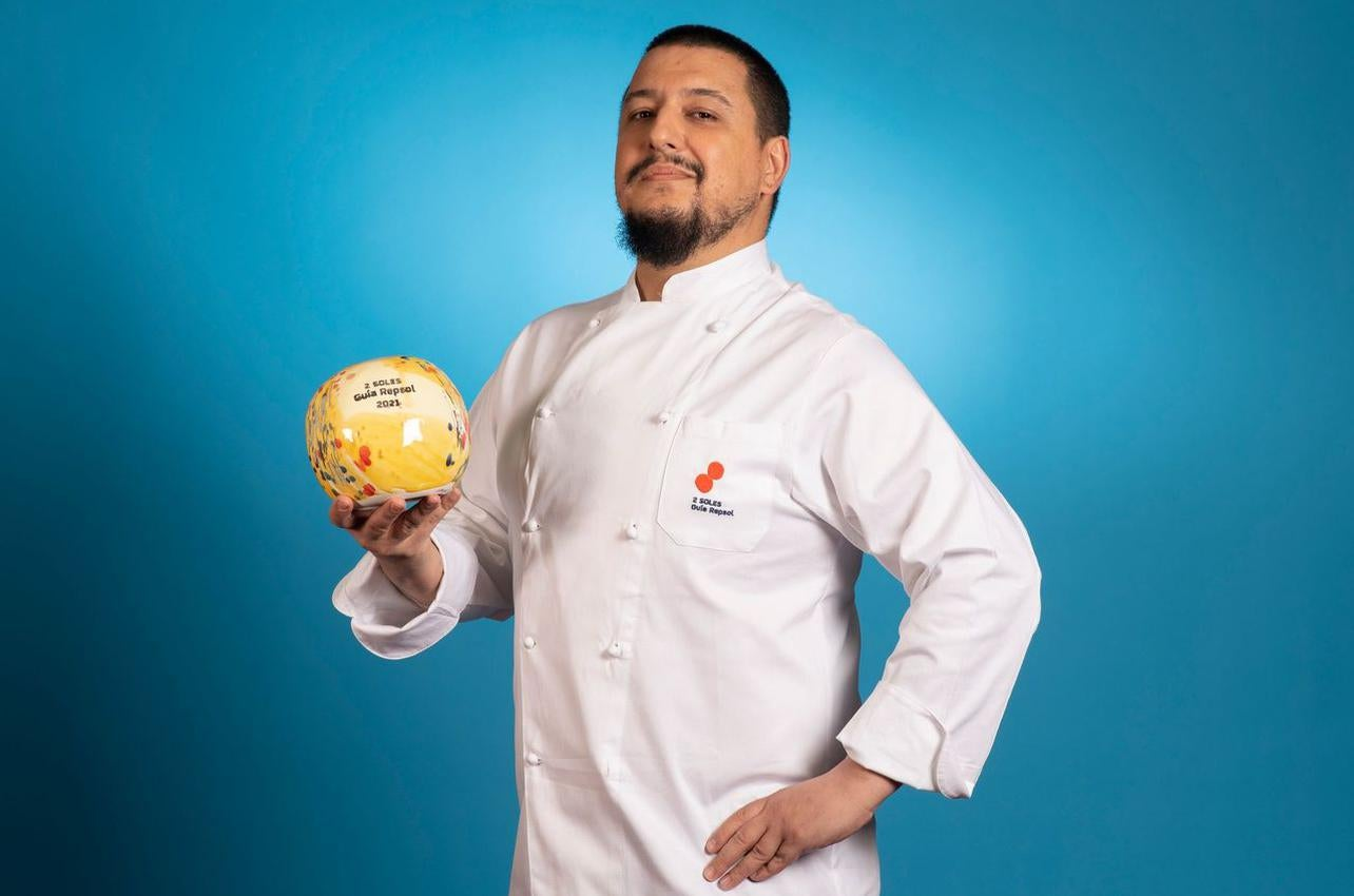 Mario Payán, con los dos Soles por Kappo, recibido por primera vez en 2021