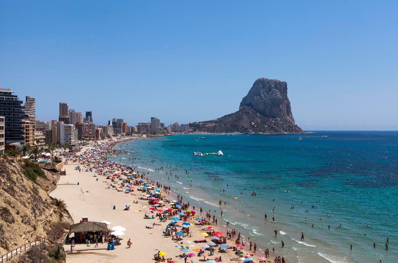 Playa del Arenal-Bol. (Foto: Ayuntamiento de Calpe.)