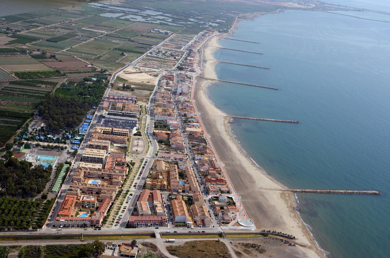Playa de Puçol. (Foto: Ayuntamiento de Puçol.)