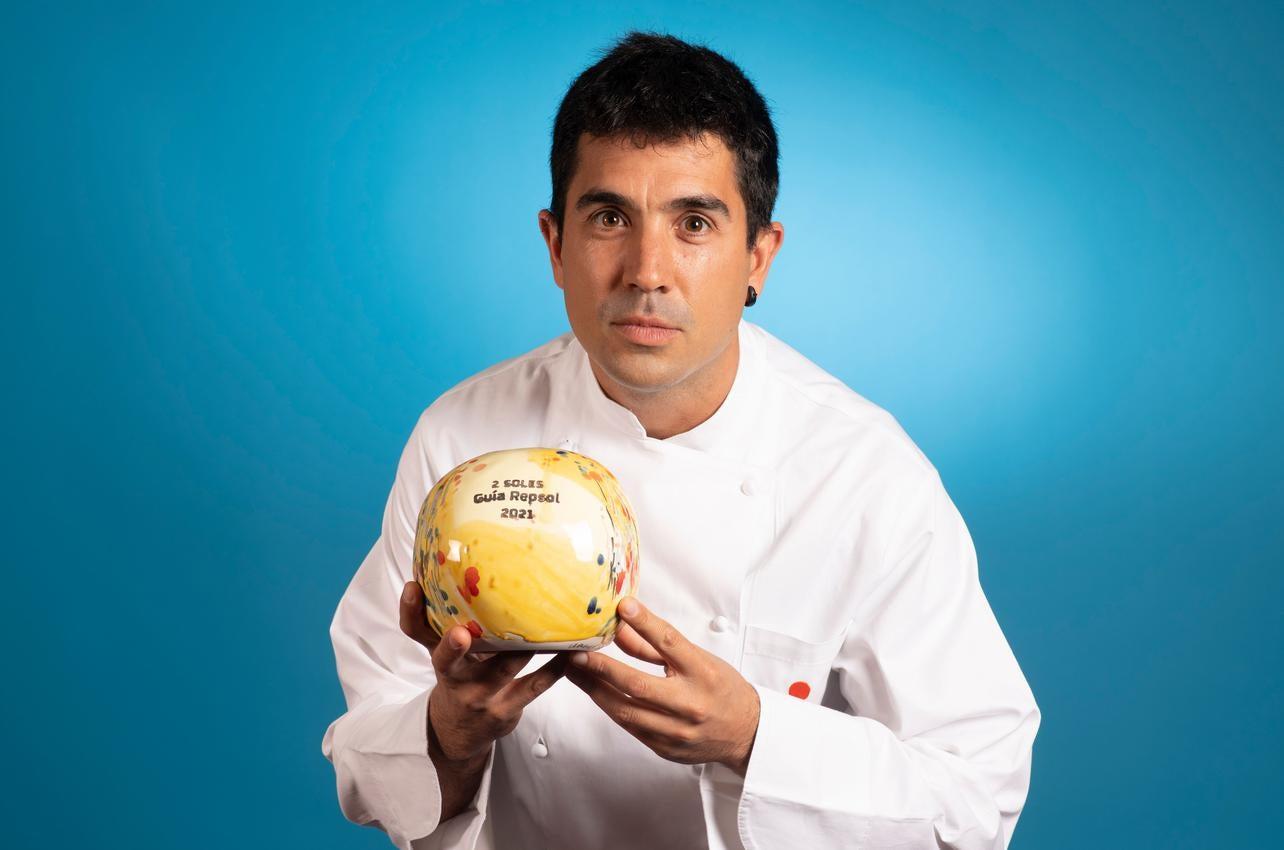 Álvaro Sanz Clavijo, con los dos Soles por Es Tragón, recibido por primera vez en 2021
