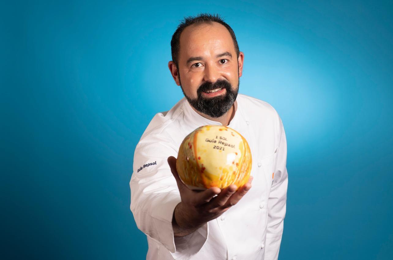 Samuel Moreno, con el Sol por Molino de Alcuneza , recibido por primera vez en 2021