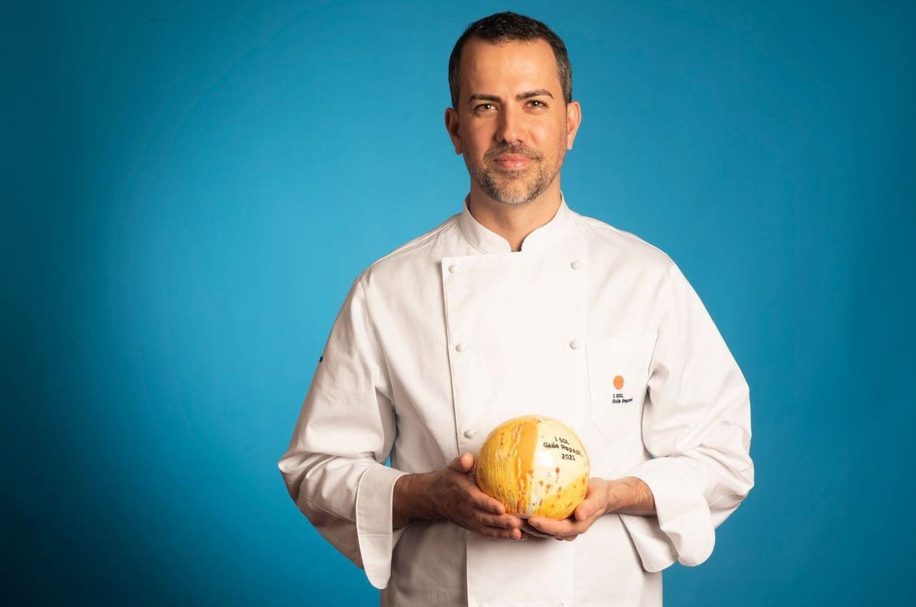Giavanni Pinto, con el Sol por Noi Restaurante, recibido por primera vez en 2021