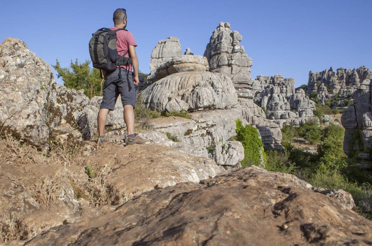 Un mar de rocas con formas surrealistas salpican este paraje. Foto: Shutterstock.