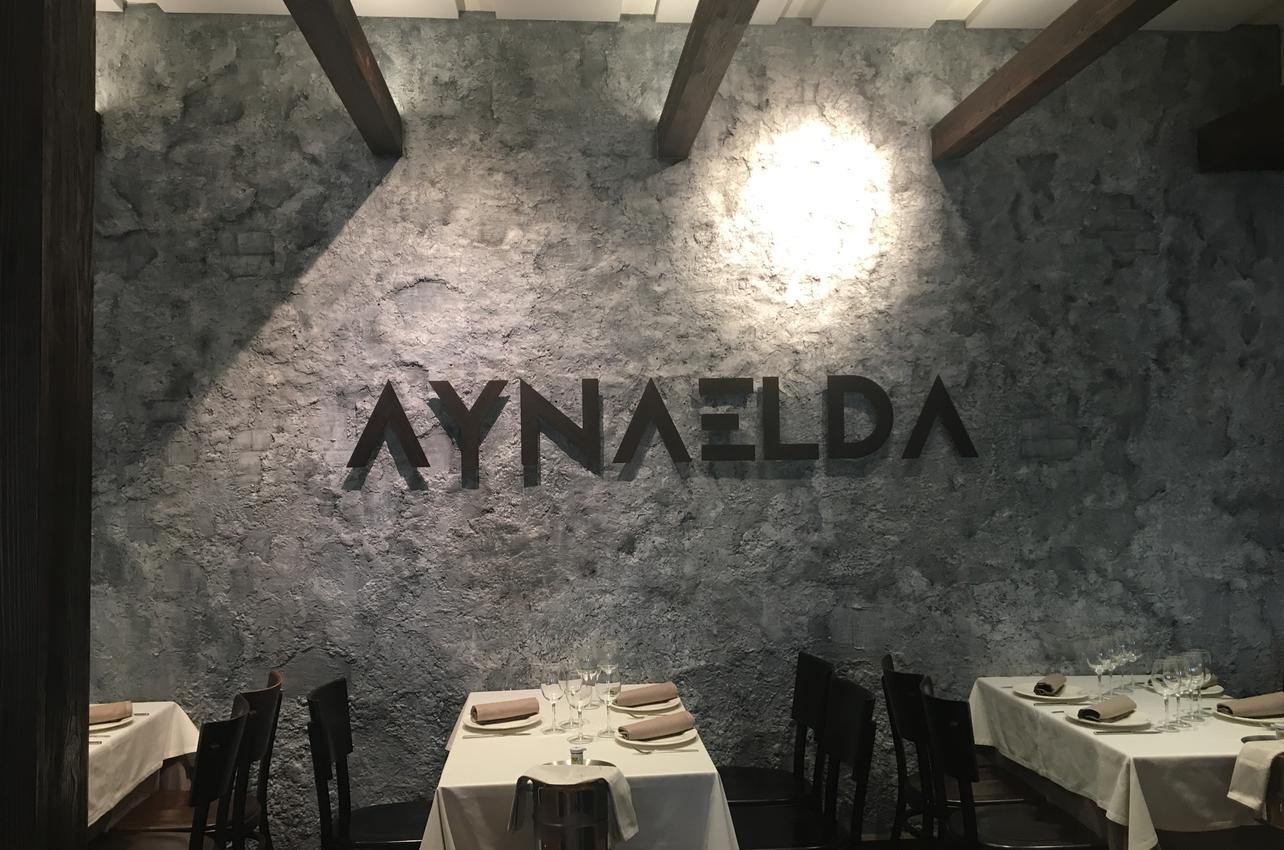 Foto cedida por el restaurante Aynaelda.