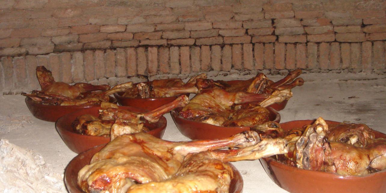 Cabrito asado en salsa jadraqueña