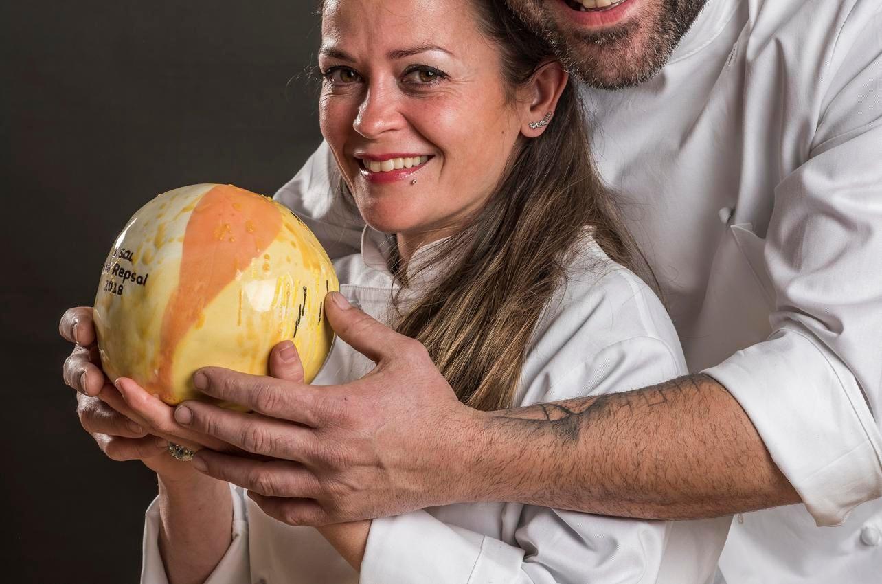 Tomás Écija Y Facunda Sánchez con su sol por El Albero concedido en 2018