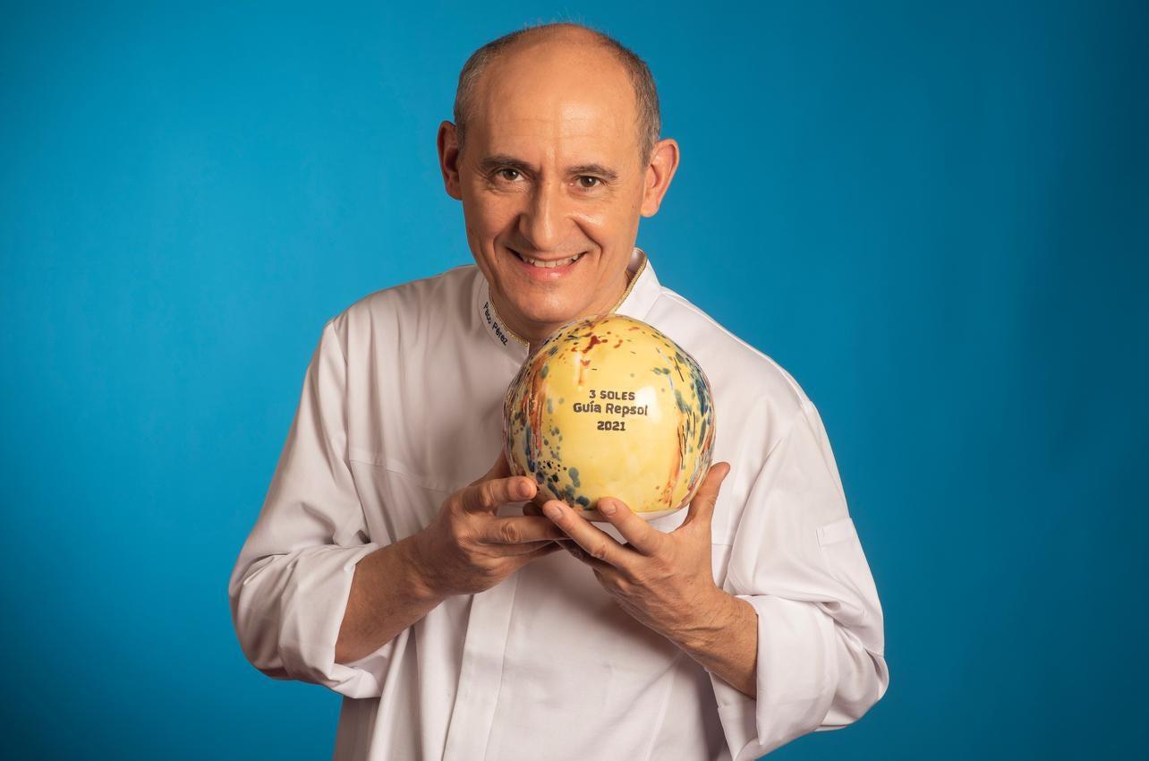 Paco Pérez, con los tres Soles por Miramar, recibido por primera vez en 2021