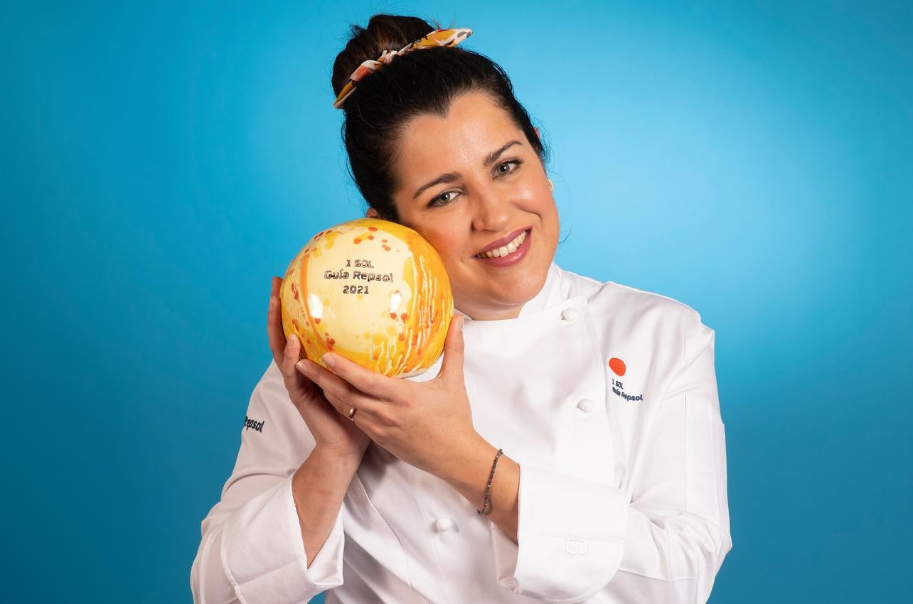 Rocio Parra, con el Sol por En la Parra, recibido por primera vez en 2021