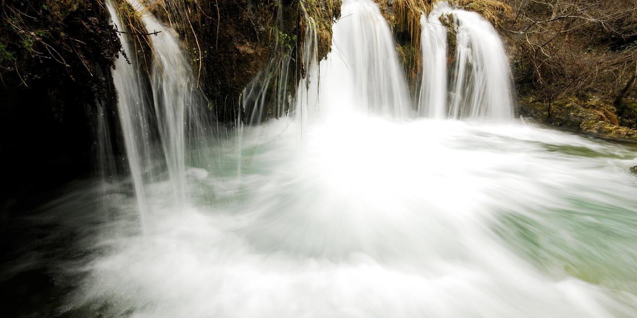Cascada Chorros del río Mundo