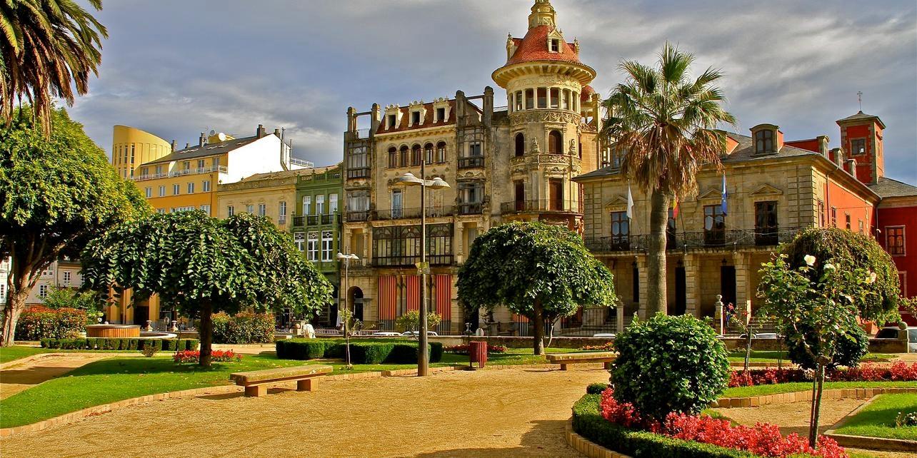 Casco histórico de Ribadeo