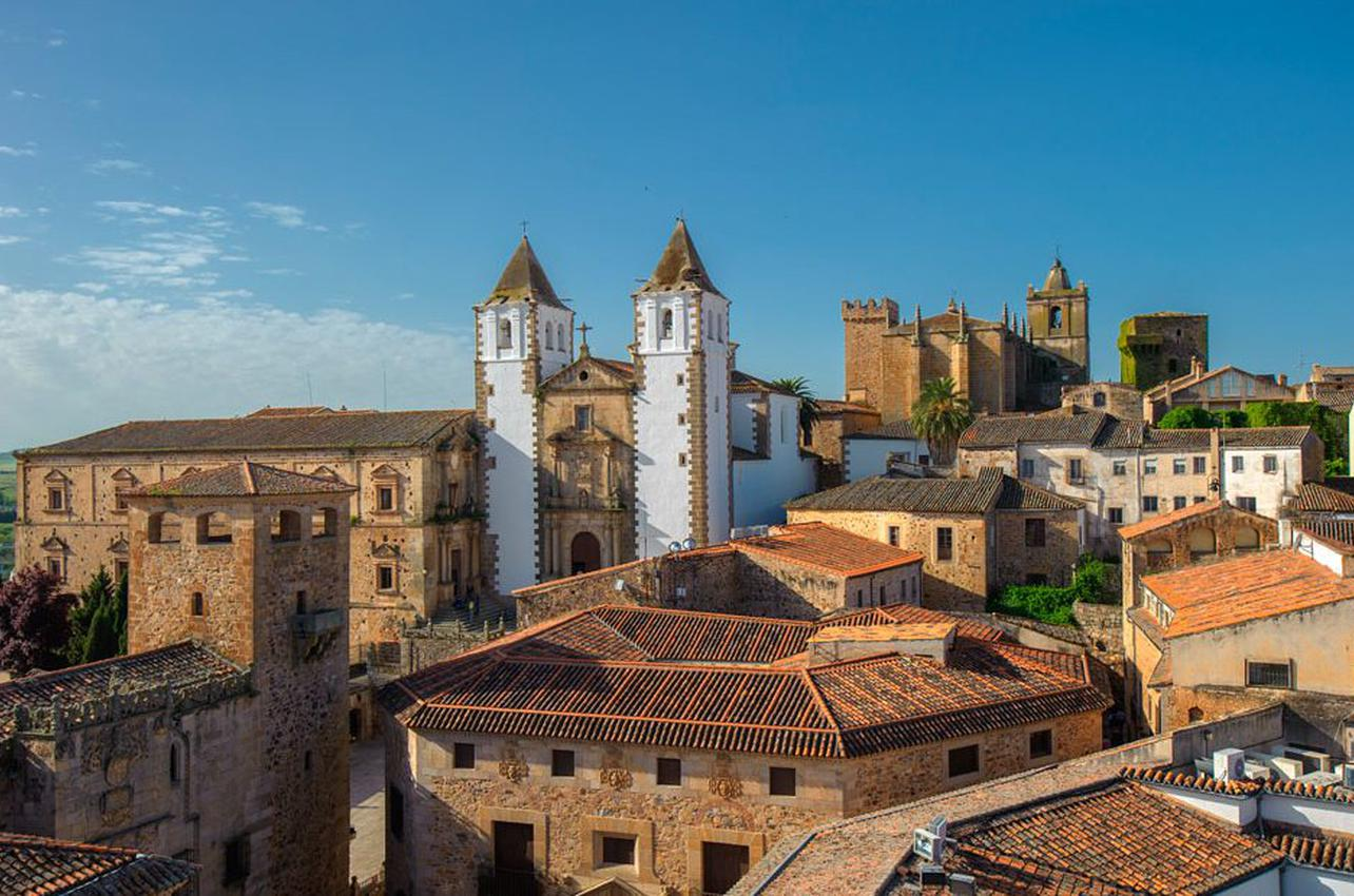 Vista general de Cáceres. Foto: Shutterstock
