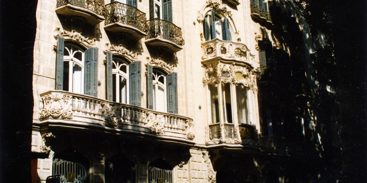 El modernismo en Cartagena