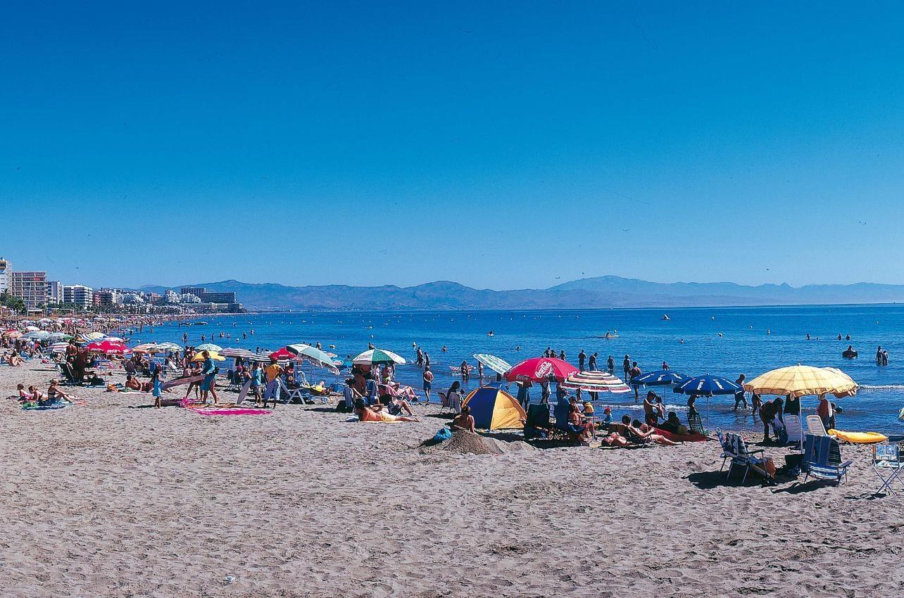 Playa Arroyo de la Miel. Benalmádena. (Foto: Ayuntamiento de Benalmádena.)