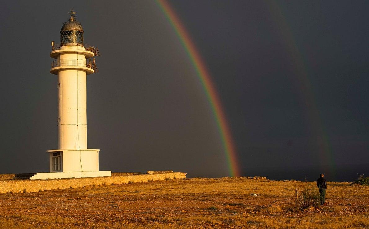 Hipnotizado por el mar en Formentera