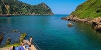 País Vasco, Guipúzcoa - Playa de Kalaburtza en Pasaia