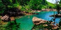 País Vasco, Guipúzcoa - Playa de los Fraliles en Hondarribia