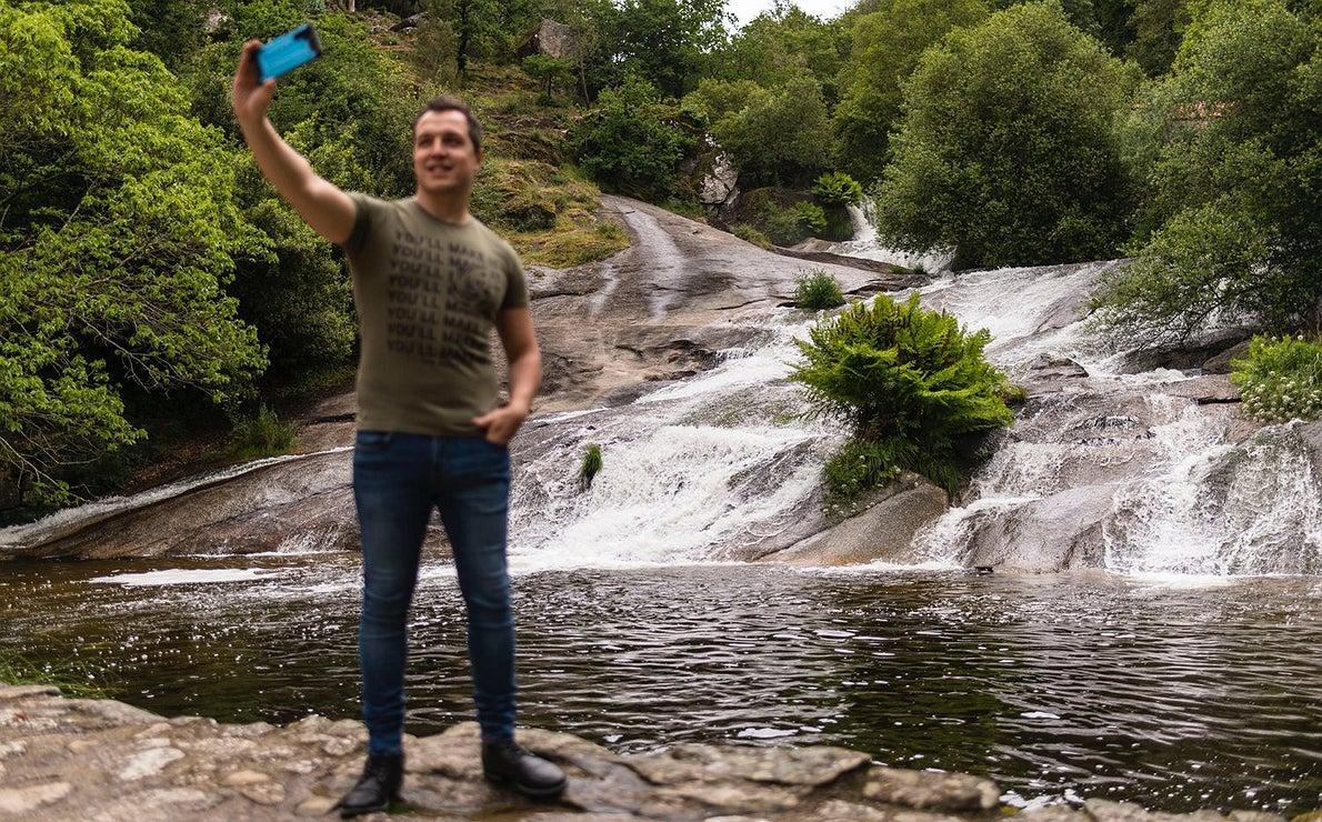Fotos en el Camino Portugués: Cascada del río Barosa