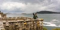 Fotos en el Camino Portugués: Fortaleza de Monterreal en Baiona