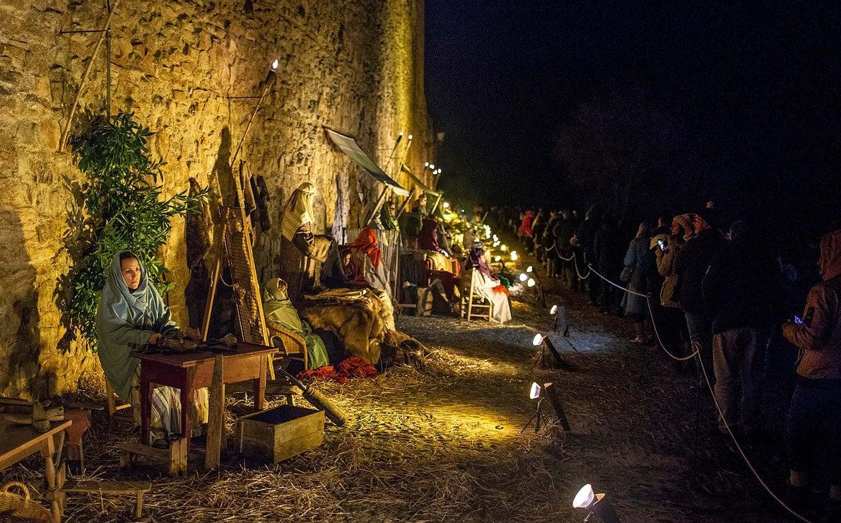 Belén viviente de Buitrago de Lozoya