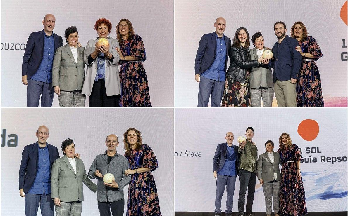 Gala Soles Guía Repsol 2020. 1 Sol collage. Amaia Ortuzar