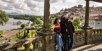 Fotos en el Camino Portugués: Parque da Alameda en Tui