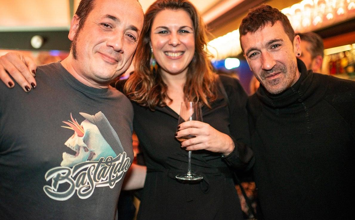 Fiesta Pre Gala Soles (San Sebastián) - María Ritter, Eneko Atxa e Igor Cubillos