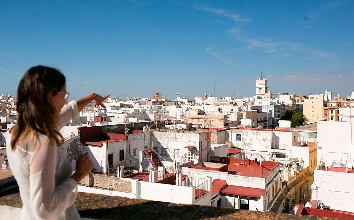 Galería hoteles con vistas. Cádiz.