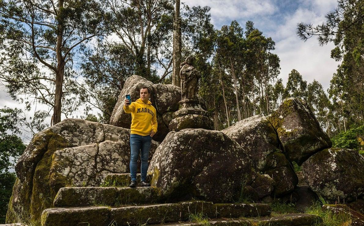 Fotos en el Camino Portugués: Monte Santiaguiño de Padrón