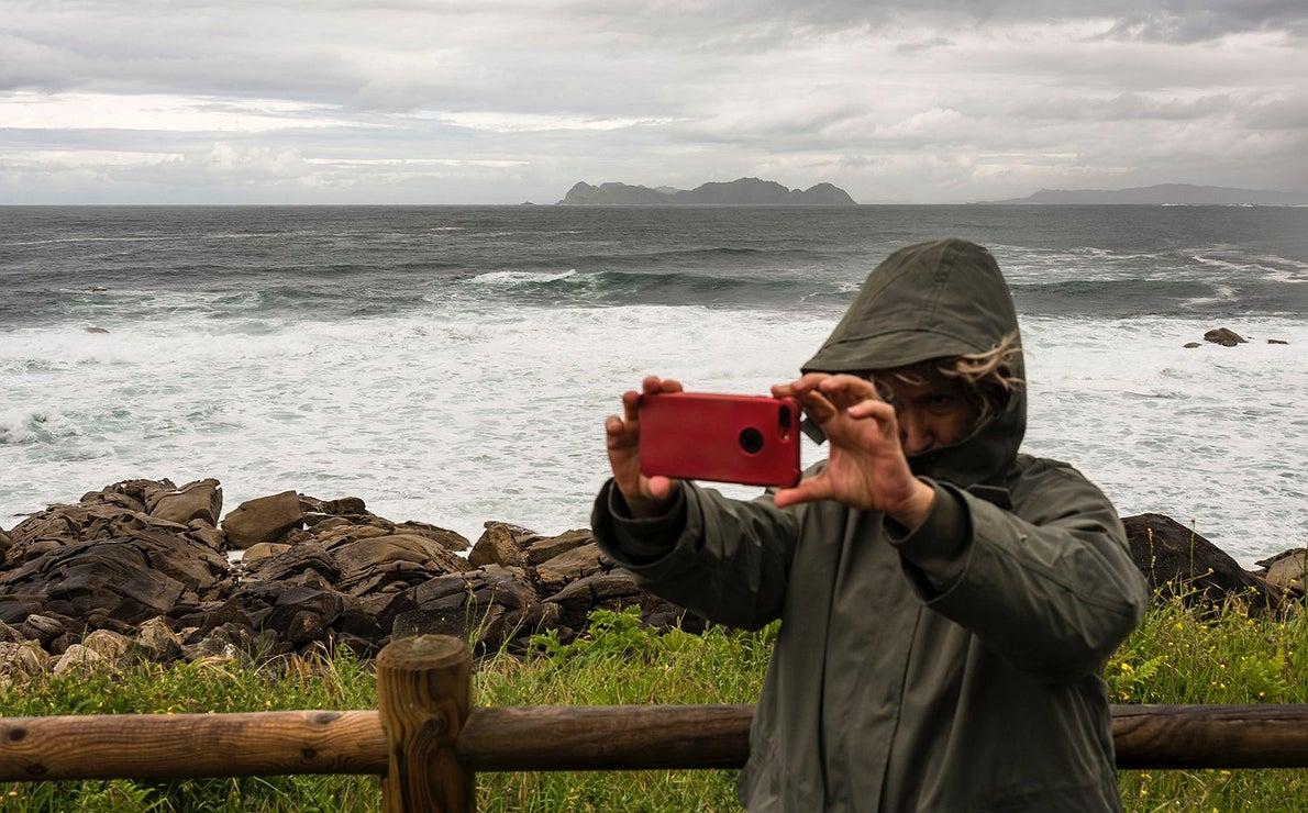 Fotos en el Camino Portugués: Mirador de Thalassa
