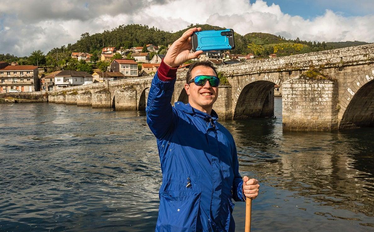 Fotos en el Camino Portugués: Puente Medieval de Pontesampaio