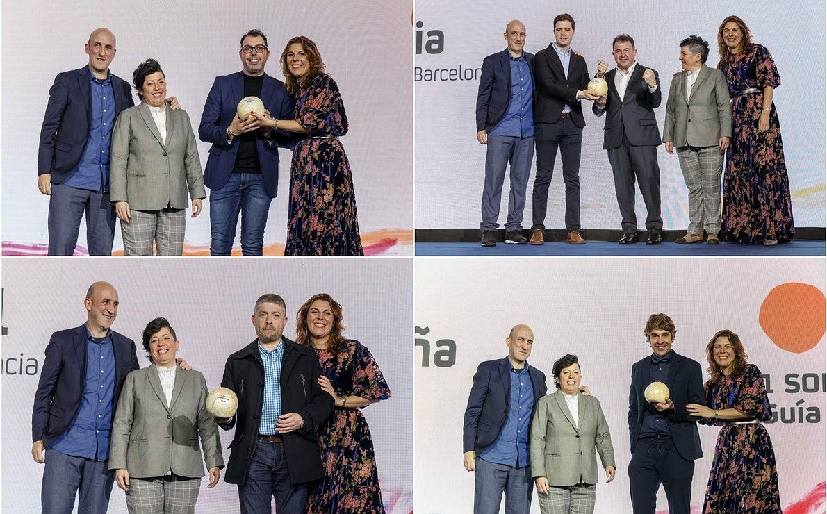 Gala Soles Guía Repsol 2020. 1 Sol collage. Javier Feixas