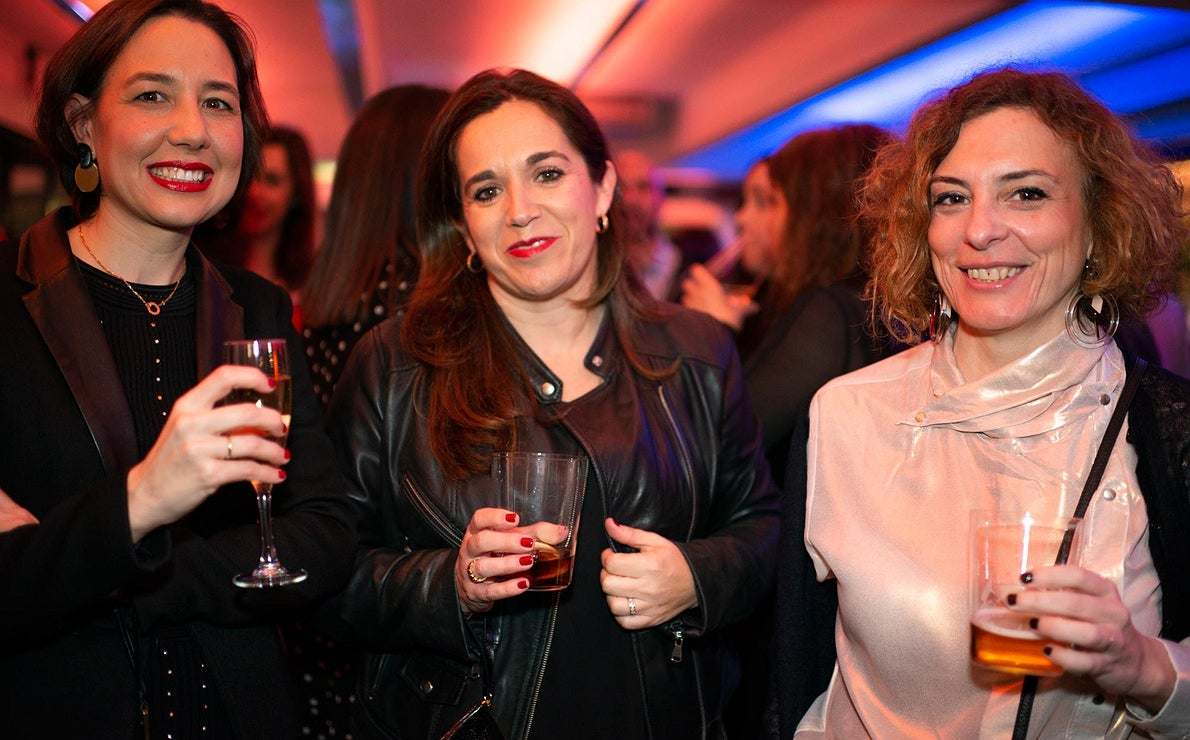 Fiesta Pre Gala Soles (San Sebastián) - Laura Díaz y dos invitadas más