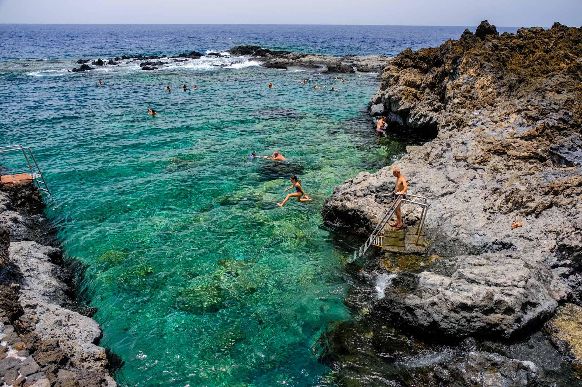 Dónde Bañarse En El Hierro Zona El Mar De Las Calmas Guía Repsol