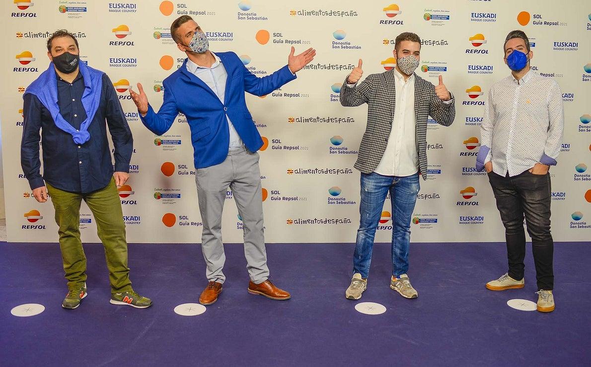 Roberto Terradillos (Terra Palencia'), Miguel Cobo ('Cobo Estrato'), Ricardo Temiño ('La Fábrica') y Javier del Blanco ('LAV').