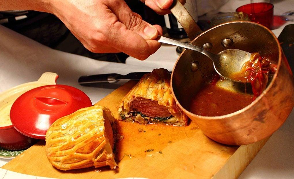 Cocinas del restaurante Ambassade de Llívia. Foto: Facebook.