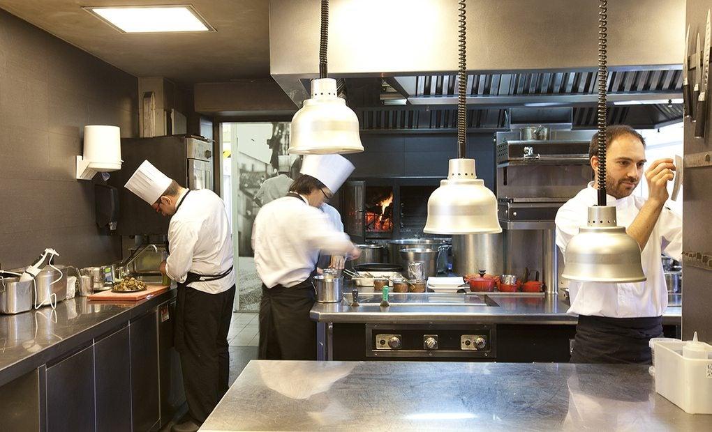 La cocina de El Celler de Can Roca. Foto: Celler de Can Roca.