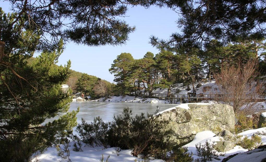 La Laguna Negra en invierno. Foto: Shutterstock.