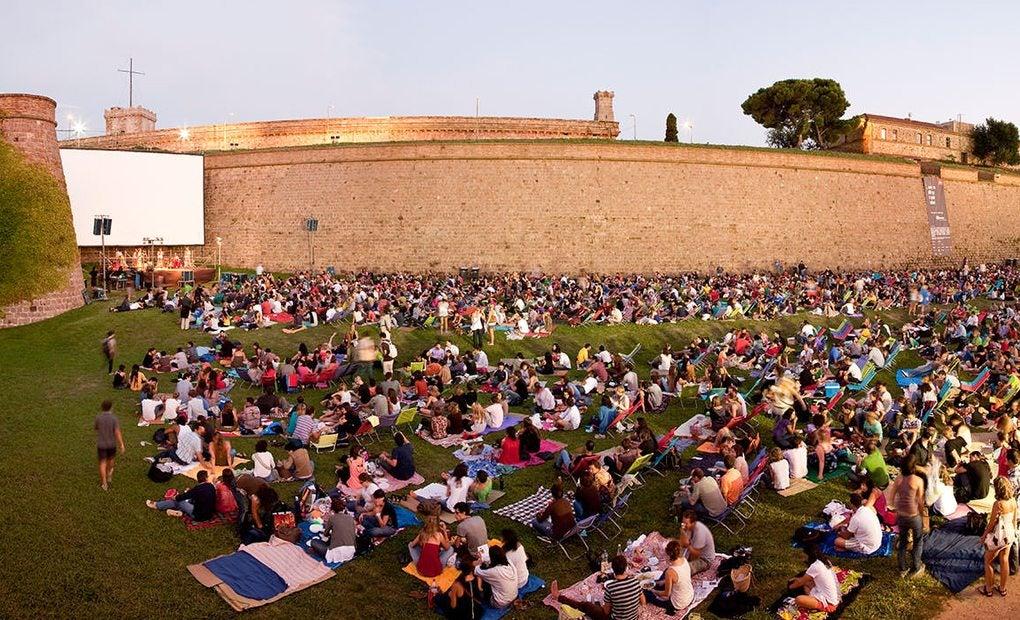 Películas a los pies del Castillo de Montjuic. Foto: salamontjuic.org