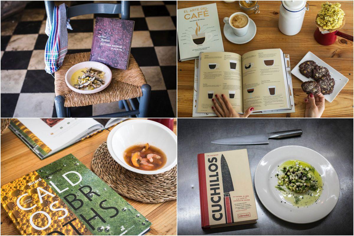 Libros y platos: un matrimonio perfecto.