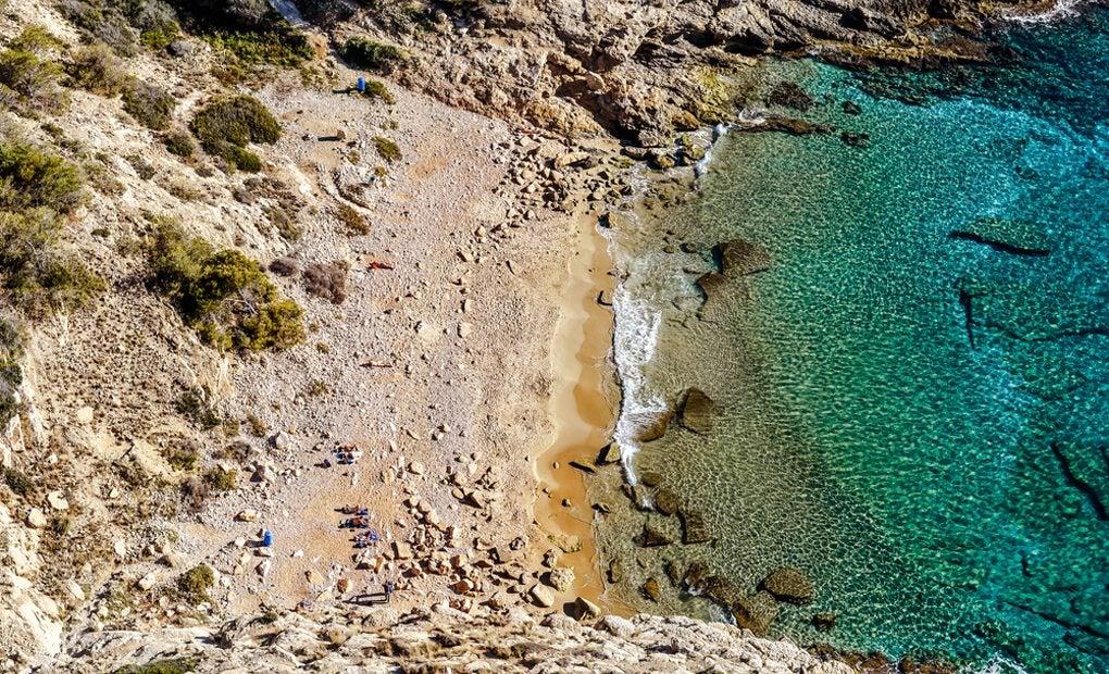 La bonita Cala Tio Ximo. Foto: Shutterstock.
