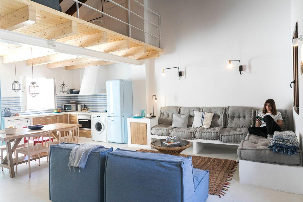 Casa Brava, un apartamento que invita a parar el tiempo