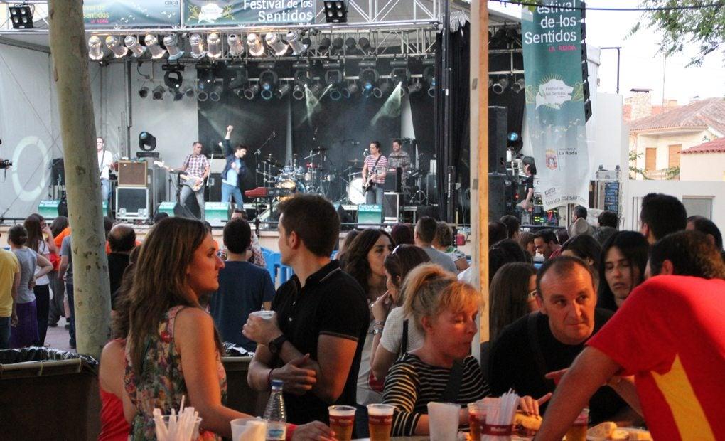 Música y Gastro, todo unido. Foto: El Festival de los Sentidos.