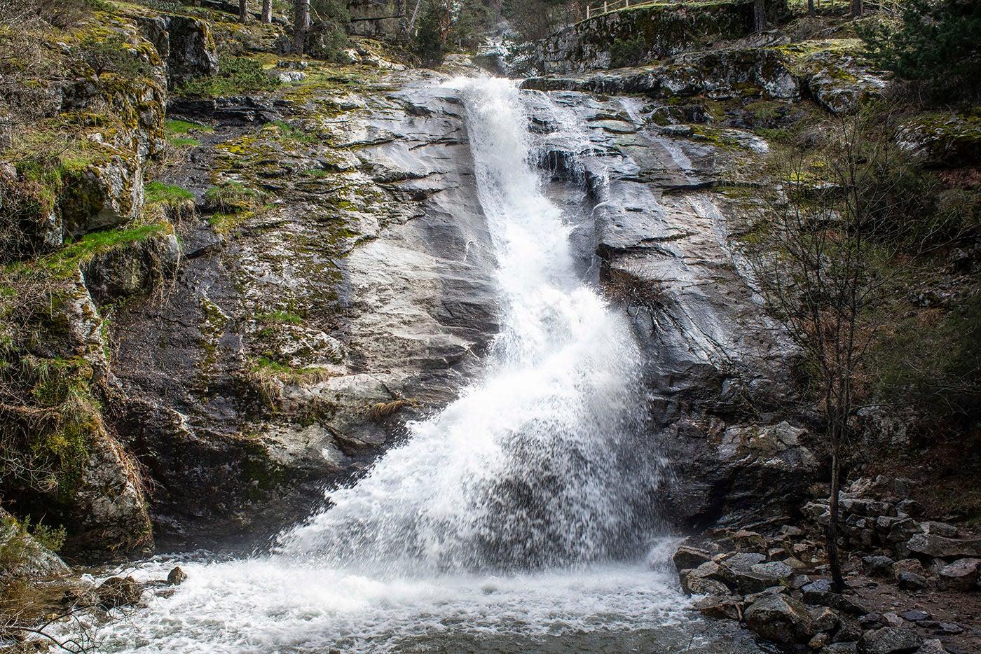Cascadas de Sierra de Guadarrama.